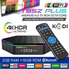 T95Z Plus S912 2 GB 16 Gb Octa Core Android 6.0 TV Box 2.4/5Ghz Doble Banda Wifi Reino Unido