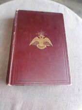1921 ALBERT PIKE MORALS & DOGMA SOUTHERN JURISDICTION FREEMASONRY HC BOOK