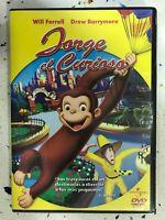 Jorge Il Curiosità DVD Will Ferrell Drew Barrymore Universal Spagnolo Libro Ita