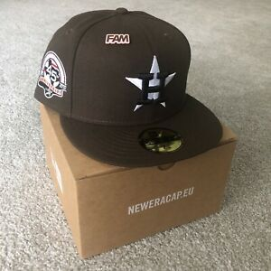 Houston Astros 45th Travis Scott Mocha Pink Limited Exclusive Fitted Hat 7 1/8
