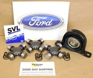 Rear Driveshaft Carrier Bearing and U Joint kit Ford  Super Duty F250 F350 99-10