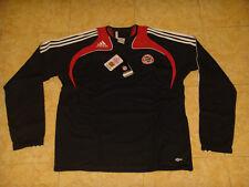 Bayern Munich Soccer Sweat Top Adidas Germany Football Sweatshirt NEW