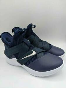 Nike Mens LeBron Soldier 12 TB Promo Sneakers Blue AT3872-406 Basketball 10 New