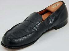 JM WESTON 180 Black LIZARD Skin Loafer - Men's US Size 13 - RIGHT SHOE ONLY
