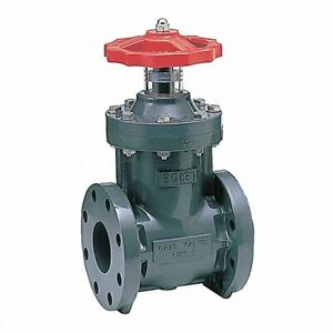 """ASAHI 1251040 GATE VALVE, FLANGED CONNECT, 4"""" PIPE SIZE, TYPE """"C"""", 49FA10, NEW!"""