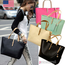New Super Fashion Lady Women Hobo Canvas Shopping Bag Purse Satchel Tote Handbag