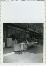 PHOTO ANCIENNE - VINTAGE SNAPSHOT - COMMERCE MAGASIN ELECTROMENAGER VÉLO - SHOP