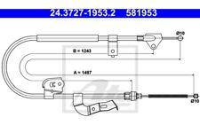 ATE Cable de accionamiento freno mano 24.3727-1953.2