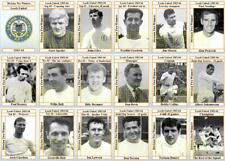 Leeds United 1964 Division Two Title winners football trading cards (1963-64)