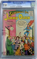 Superman's Pal JIMMY OLSEN 8 CGC 7.0 DC 1955 ONLY 3 Higher Graded