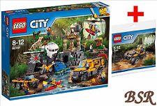 LEGO® City Dschungel 60161 Forschungsstation & 30355 Quad & 0.-€ Versand NEU OVP
