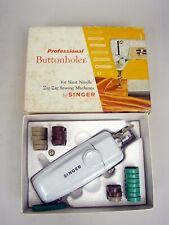 Singer Professional Buttonholer #161829 MIB - Vintage