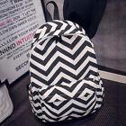 Womens Girls Backpack Rucksack Canvas Travel Satchel Bookbag School Shoulder Bag
