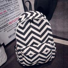 Mens Womens Canvas Backpack Bag School College Travel Laptop Sstchel Rucksack  UK c1273038c163a