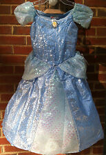 NEW Disney World Parks CINDERELLA Girls DRESS L 10/12 Princess HALLOWEEN COSTUME