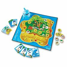 Learning Resources Alphabet Island Letter/sounds Game - Educational - 2 To 4