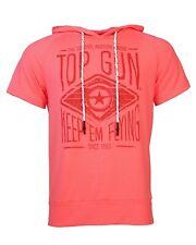 Top Gun T-Shirt Hoody FLYING TEAM Bright Neon-Pink