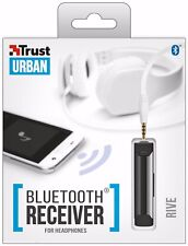TRUST 21755 RIVE PORTABLE RECHARGEABLE BLUETOOTH RECEIVER FOR HEADPHONES ETC.