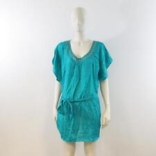 Lovely Teal Embellished Sleeveless Blouse -Dorothy Perkins UK 18 - New With Tag