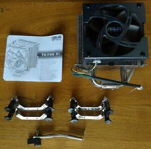 Radiateur CPU PC avec ventilateur - Asus Triton 81 - Socket 1366