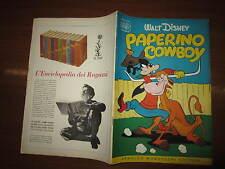 WALT DISNEY ALBO D'ORO N°34 PAPERINO COWBOY 22-8-1954