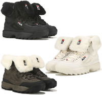 Fila Disruptor Shearling Sneaker Boot Women's Lifestyle Comfy Shoes