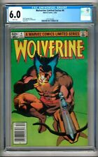 Wolverine Limited Series #4 (1982) CGC 6.0  White Pages  Claremont - Miller