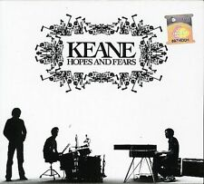 FREE US SHIP. on ANY 3+ CDs! ~Used,Good CD Keane: Hopes & Fears Limited Edition,