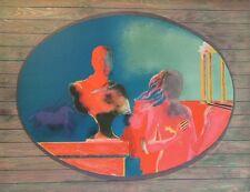 Paul GUIRAMAND / 作家名 (1926-2007) Lithographie Jeune Peinture Nle Ecole de Paris