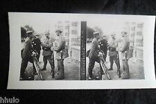 STA531 Sentinelle à la Kommandatur stereoview Photo 1914 WW1 première guerre