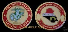 WOMEN US MARINES WM IRAQ OIF CHALLENGE COIN GIFT MILITARY FEMALE FMF PIN UP USS