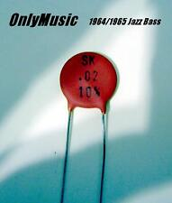 Compatible with Jazz Bass 1964 1965 Vintage Repro Capacitor