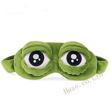 Triste grenouille 3D Œil Masque En train de dormir Cache oeil le repos Jouet