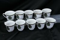 Pacific Rim Xmas Tree Cups Lot of 10