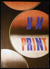 1942 Print Graphic Arts Jean Carlu Lawrence Wroth Zoltan Haraszti John T Arms
