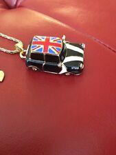 Betsey Johnson Large British Car Pendant