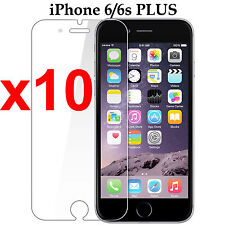 x10 Anti-scratch 4H PET film screen protector Apple iphone 6 6s PLUS front