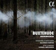 Buxtehude: Abendmusiken - Vox Luminis Lionel Meunier Ensemble Masques O (NEW CD)