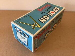 Spot On Triang Empty Box 115 Bristol 406