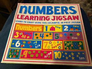 Numbers Learning Jigsaw