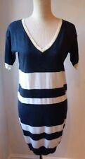 NEXT Cotton Striped V-Neck Dresses for Women