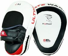 EMRAH Curved Focus Pads Mitts,Hook and Jab Punching Kick Boxing Muay Thai MMA W