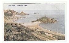 Jersey postcard - Portelet Bay, jersey (A43)