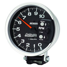 Autometer 233902 Black Face HEI Memory Tachometer  #1145