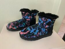 UGG Paint Splatter Bailey Button Boots Size 8  New without Box