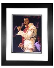 ELVIS PRESLEY -  014  8X10  PHOTO FRAMED TO11X14