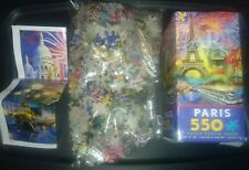 "24""X18""-Paris- 550 pc PUZZLE POSTER Ceaco Ages 12 and Up"
