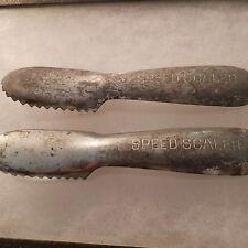 2 Vintage Speed Scaler Fish Scaler