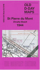 OLD D-DAY MAP ST PIERRE DU MONT - OMAHA BEACH 1944