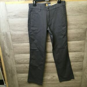 Carhartt Mens Size 30x32 Gravel Rugged Flex Rigby Relaxed Fit Pant NWT